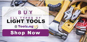 affordable and good quality light tools at toolz.ng
